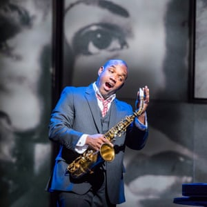 'Vocal and dramatic integrity' … Lawrence Brownlee as Parker in Charlie Parker's Yardbird.