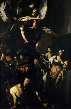 The Seven Works of Mercy by Caravaggio (1607)