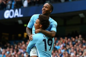 Raheem Sterling and Leroy Sané are the two standout candidates this season.