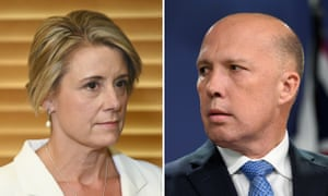Kristina Keneally and Peter Dutton