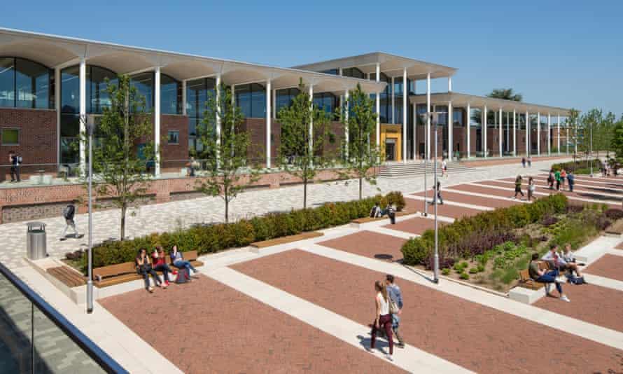 Nottingham Trent University's Pavilion building was built using Passivhaus principles to ensure energy efficiency.