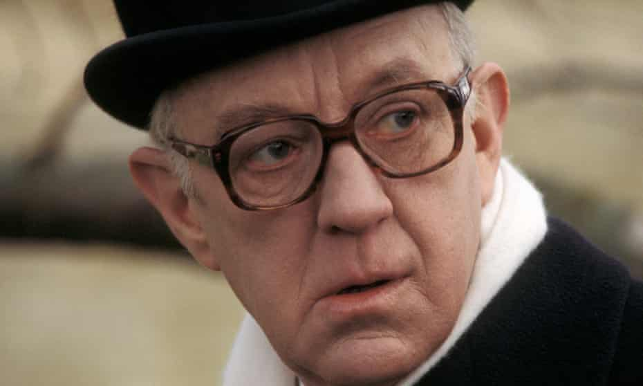 Alex Guinness as George Smiley in the BBC's landmark 1979 series Tinker Tailor Soldier Spy.