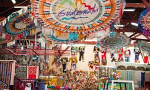 Nim Po't, souvenir shop in Antigua Guatemala.