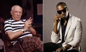 From one visionary to another … Pablo Picasso and Kanye West.