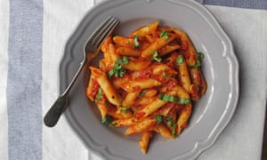 If you can't stand the heat … the perfect all'arrabbiata