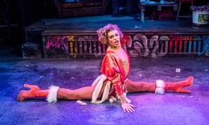 Layton Williams as drag queen Angel Schunard.