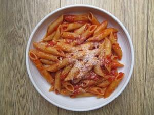 Mario Batali's pasta all'arrabbiata