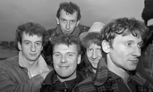 Microdisney at St Katherine's Dock, London, UK 26 March 1987. (Photo by David Corio/Redferns)