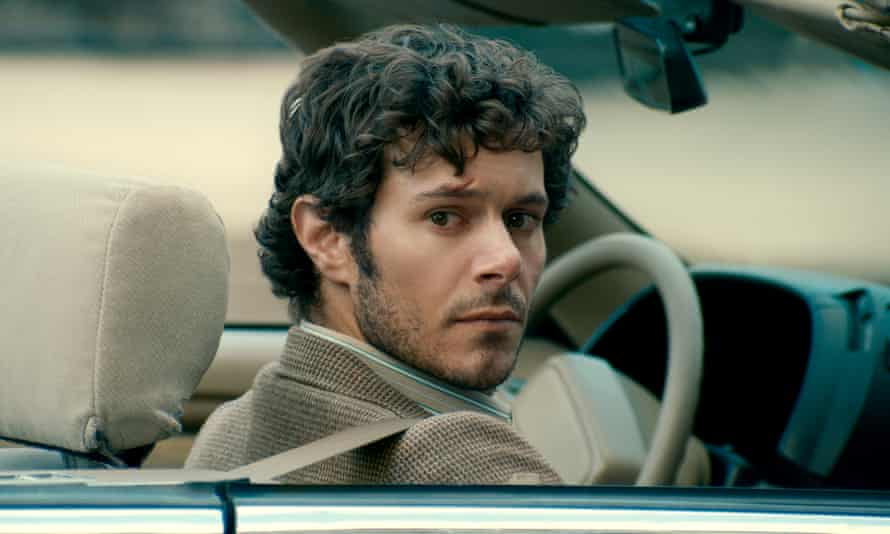 Adam Brody in The Kid Detective, a movie that starts in the middle of the road before ending up off a cliff.