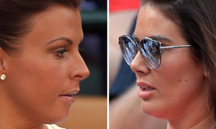 Rebekah Vardy (right) has launched libel proceedings against Coleen Rooney (left).