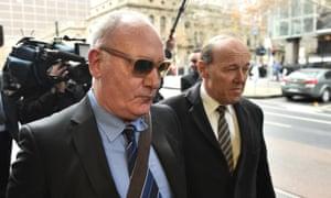 Raffaele di Paolo leaves the Melbourne magistrates court on 27 June.