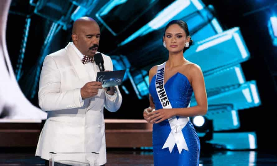 'Take your first walk as Miss Universe.'