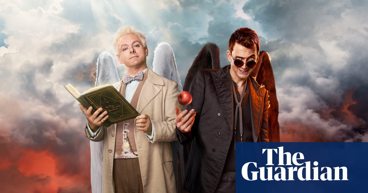 Good Omens is going beyond the book? That's not a bad sign