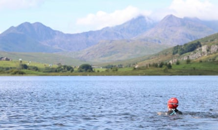 Open-Water-Swimming Plas y Brenin