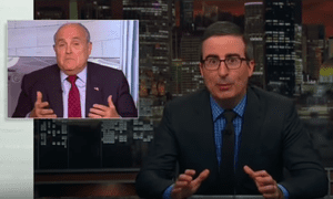 'What is Giuliani doing and why does the White House keep letting him go on TV?'...John Oliver
