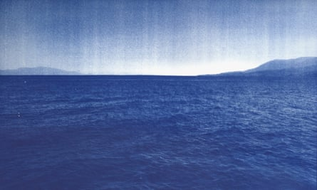 Fade to blue ... Emeric Lhuisset's European cyanotypes.