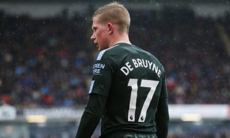 Kevin De Bruyne ready for mini break as City's progress and injuries take toll