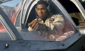 John Boyega in Star Wars: The Last Jedi.