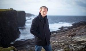 Douglas Henshall in Shetland.