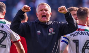 Chris Wilder has a tattoo of the Sheffield United crest and regards Bramall Lane as his natural home.