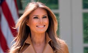 Trump misspells Melania's name in tweet on return to White House from  hospital