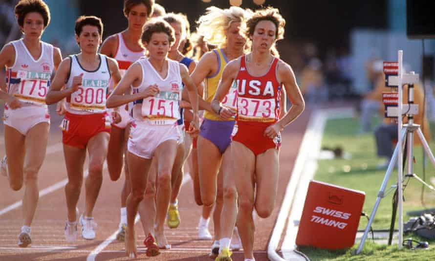How Runners Mary Decker And Zola Budd Drove Women S Athletics Forward Running The Guardian