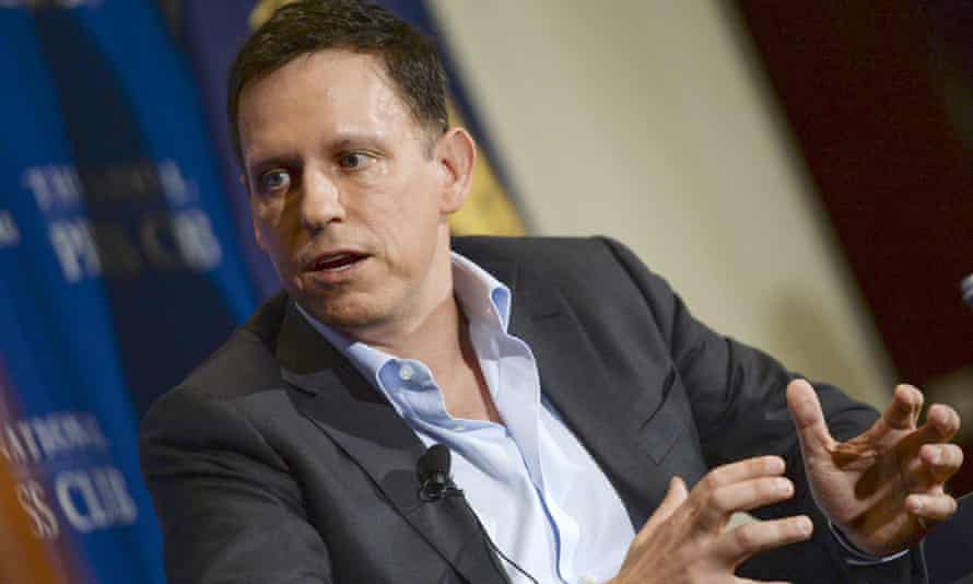 Proud to be a Republican … Peter Thiel