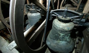 Bells in a Cheshire church