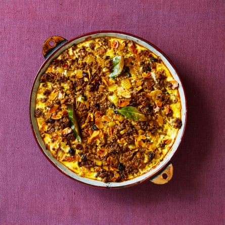 Spicy South-African supper: Mimi's bobotie