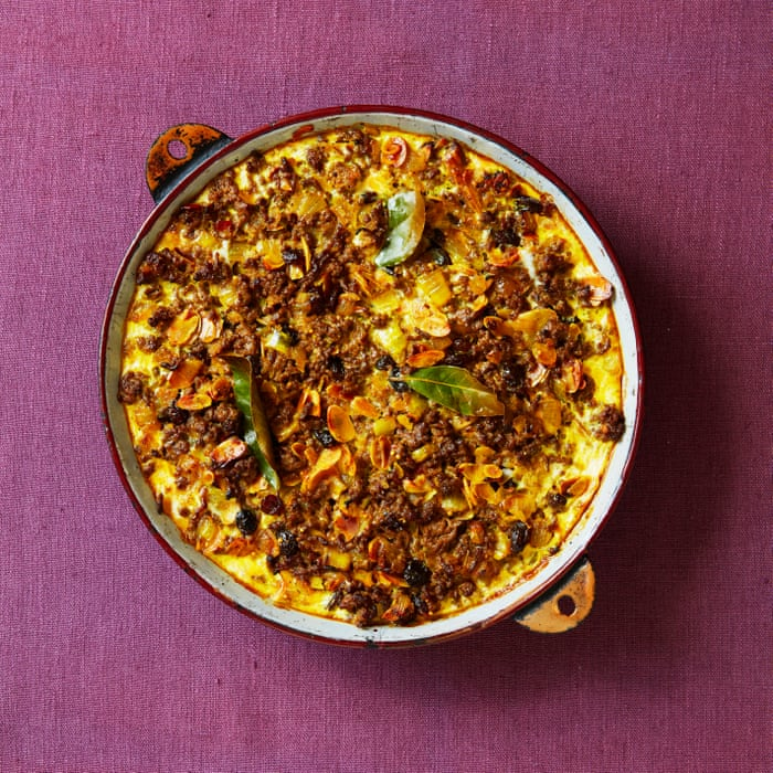 A South African Shepherd S Pie Thomasina Miers Family Recipe For Bobotie The Simple Fix With Thomasina Miers Food The Guardian