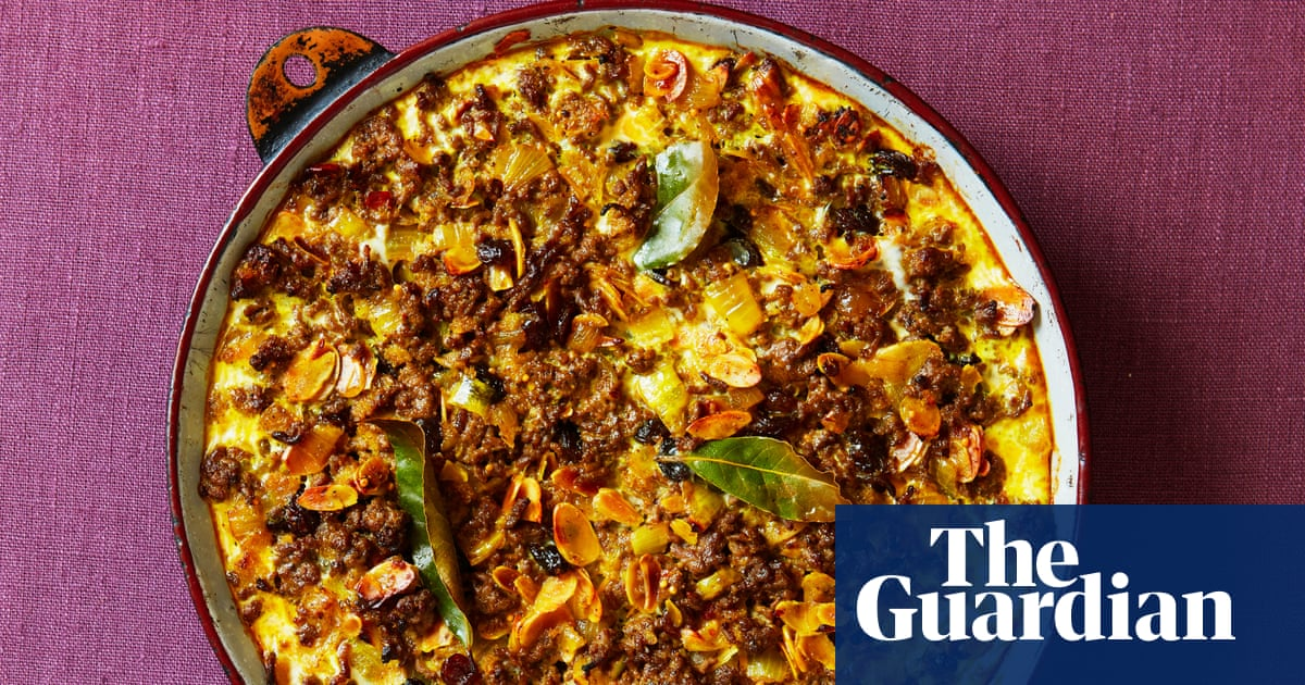 A South African shepherd's pie: Thomasina Miers' family recipe for bobotie   The Simple Fix with Thomasina Miers
