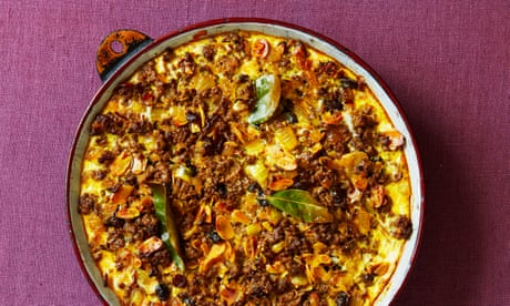 A South African shepherd's pie: Thomasina Miers' family recipe for bobotie