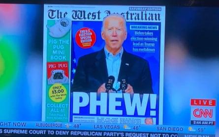 The West Australian makes an appearance on CNN.