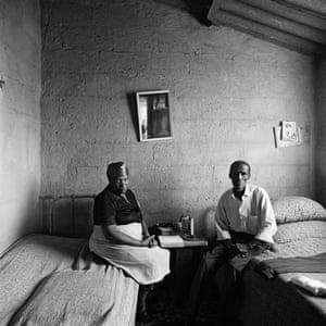 Ruth and Jackson Poni, 1510A Emdeni South, Soweto, 1972.
