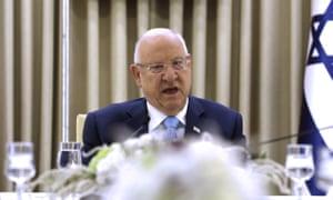 Israel's president, Reuven Rivlin