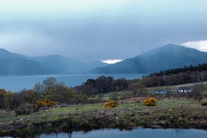 The Rosneath peninsula