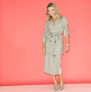 Jess Cartner-Morley in skirt suit