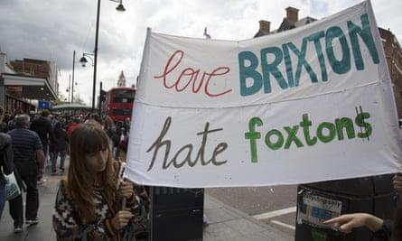 'Reclaim Brixton protest