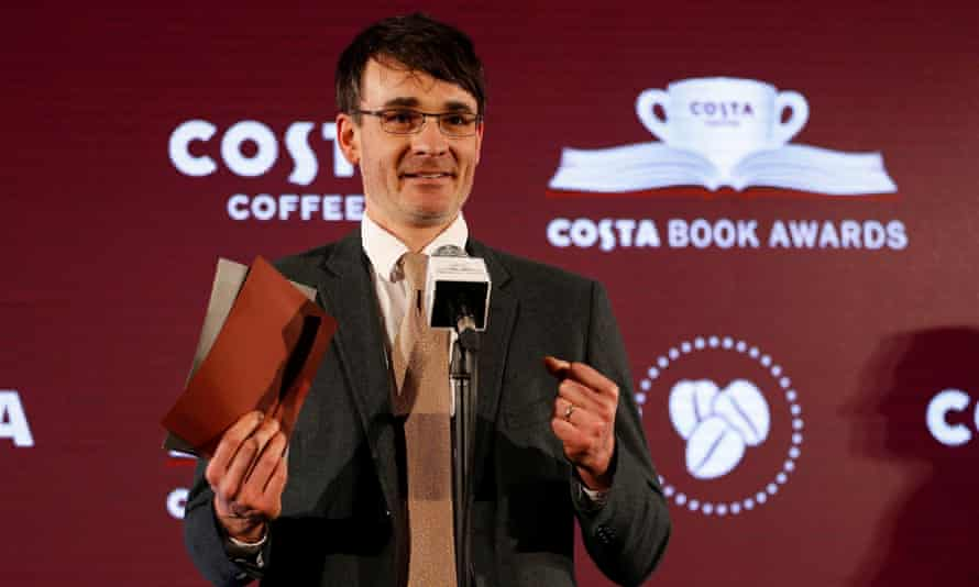 Jack Fairweather at the Costa book of the year awards in London.