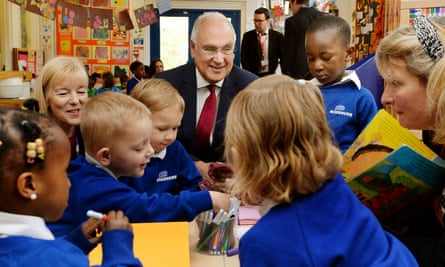 Sir Michael Wilshaw visit to nursery