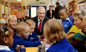 Sir Michael Wilshaw, centre, says chairs and vice-chairs should be paid in order to attract the most able people to challenging schools.