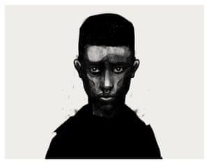 Awet, 2015, Giclée print from mixed media and digital original