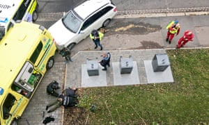 A man is arrested after hijacking an ambulance in Oslo, Norway.