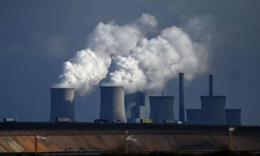 Coal burning, seen here at a coal-fired power station in western Germany, has been blamed for deadly levels of air pollution across the world.