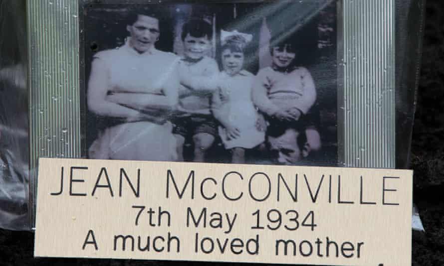 Photo of IRA murder victim Jean McConville