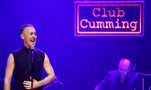 Making mischief … Alan Cumming Sings Sappy Songs!