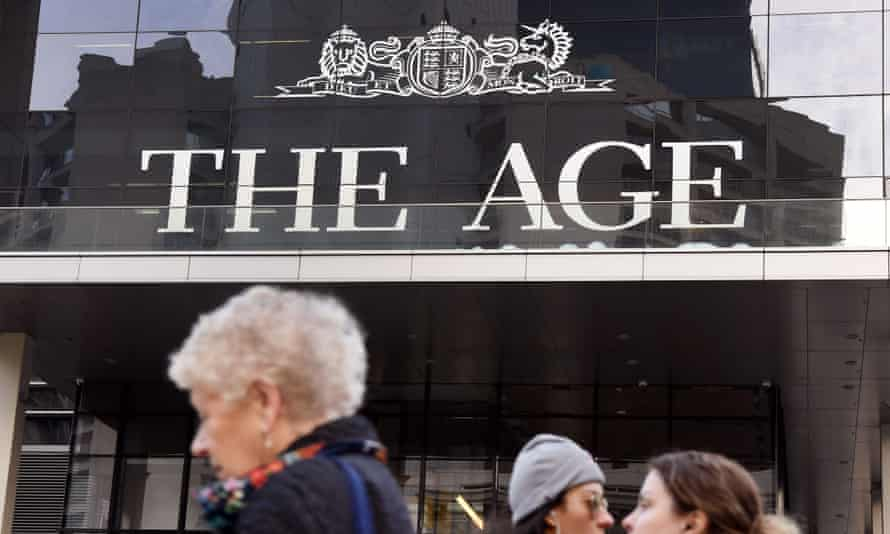 The offices of the Age