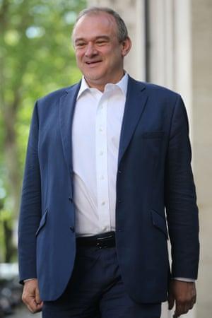The Lib Dem MP for Kingston and Surbiton, Ed Davey.