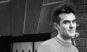Thorny … Morrissey in his Smiths days