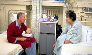 Male and female patients on mixed ward